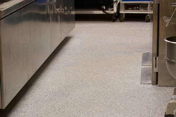 Restaurant Kitchen Floor re-Finishing